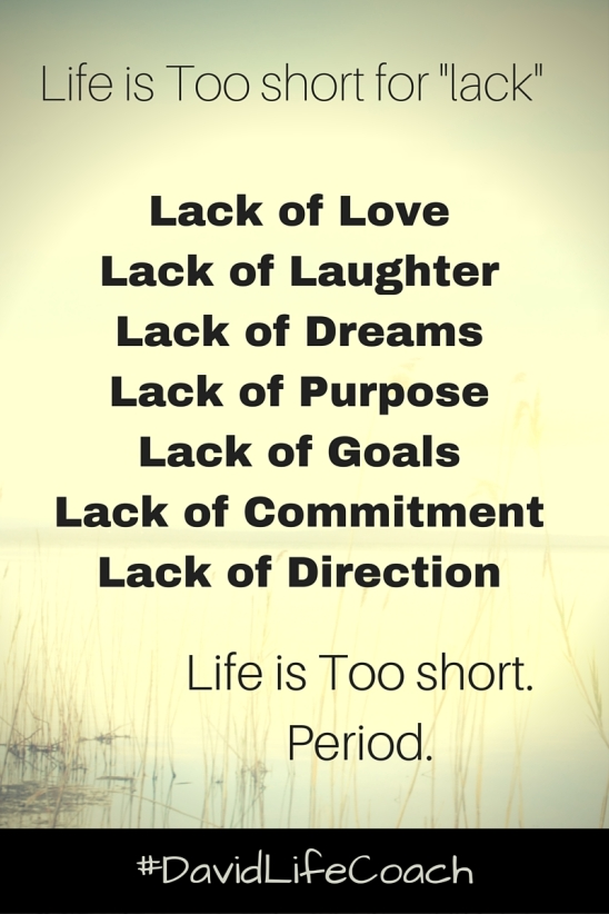 Life is Too short blog post
